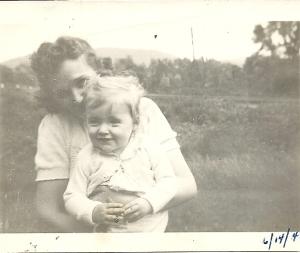 Mom & me 6-14-42
